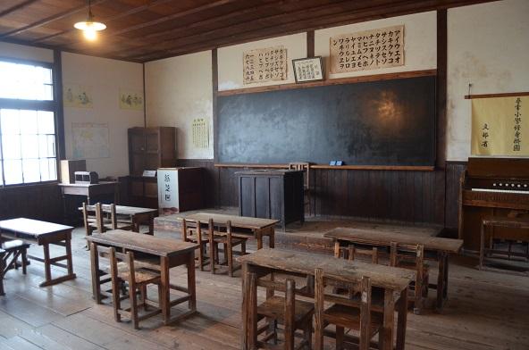 「二十四の瞳」の教室