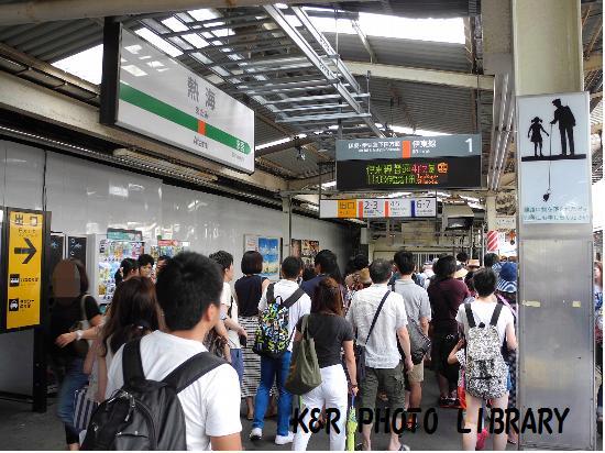2015年8月9日熱海駅1
