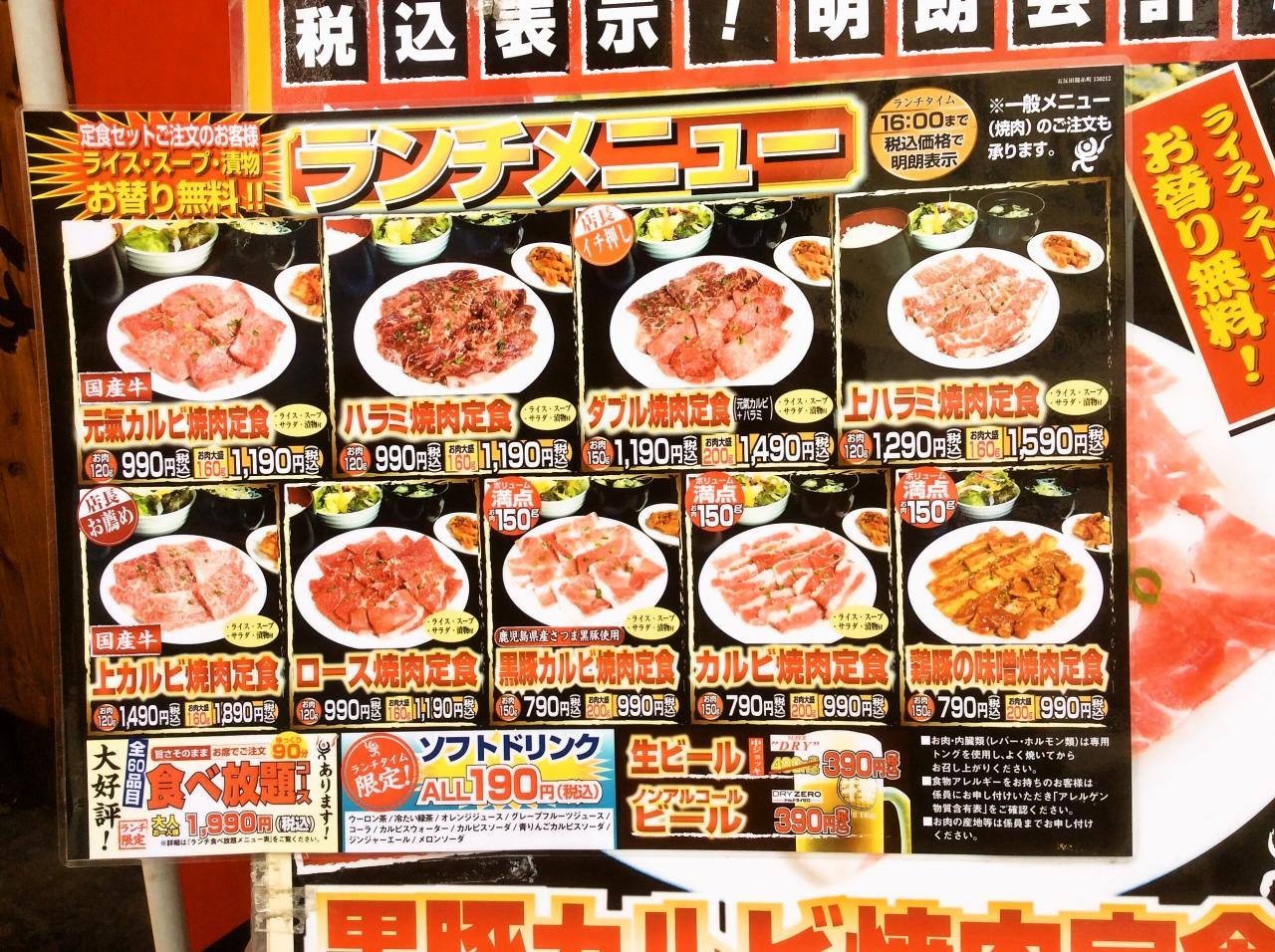 牛繁五反田店(店舗外観)