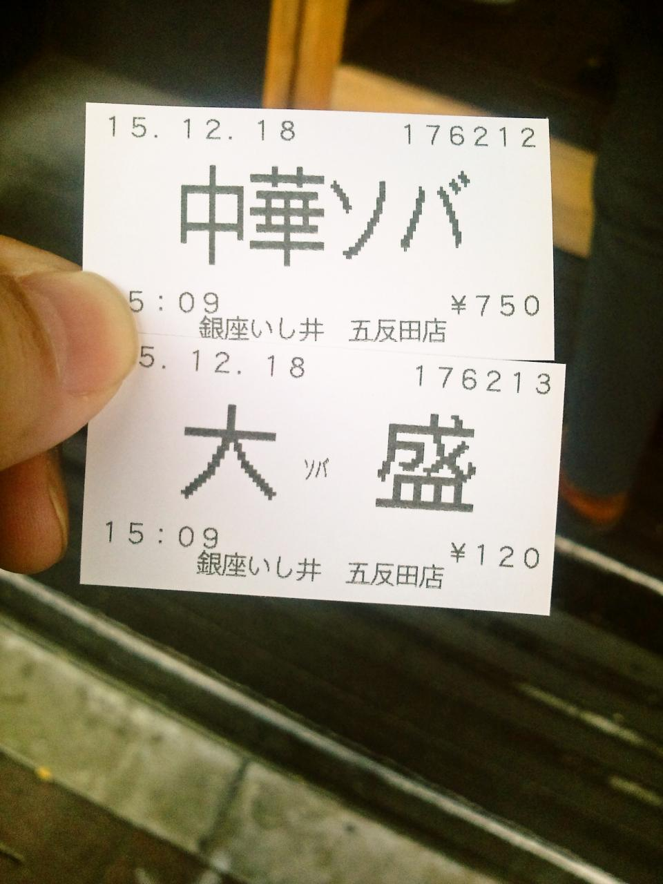銀座いし井五反田店(店舗)