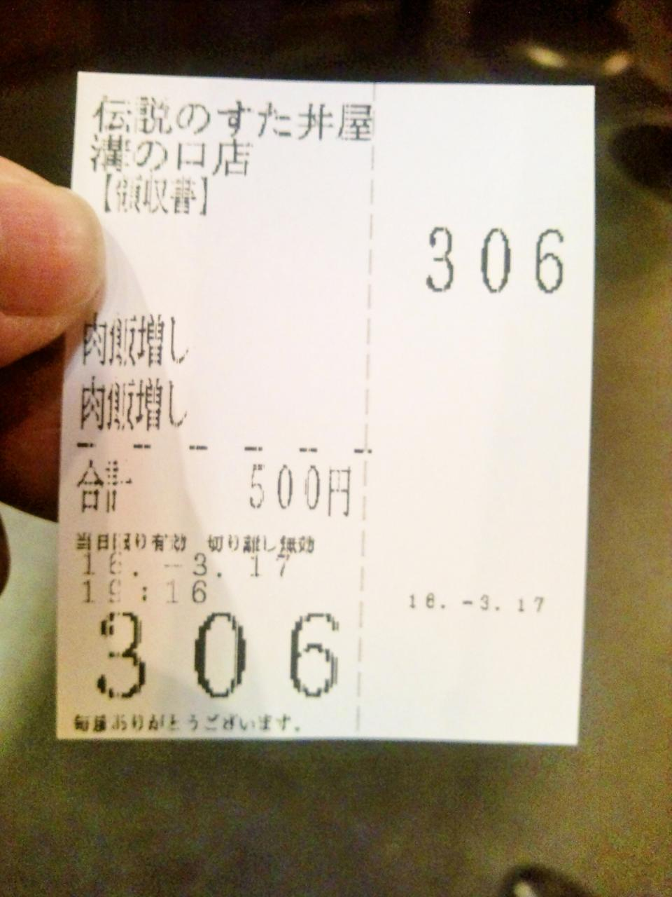 伝説のすた丼屋溝の口店(すた丼)