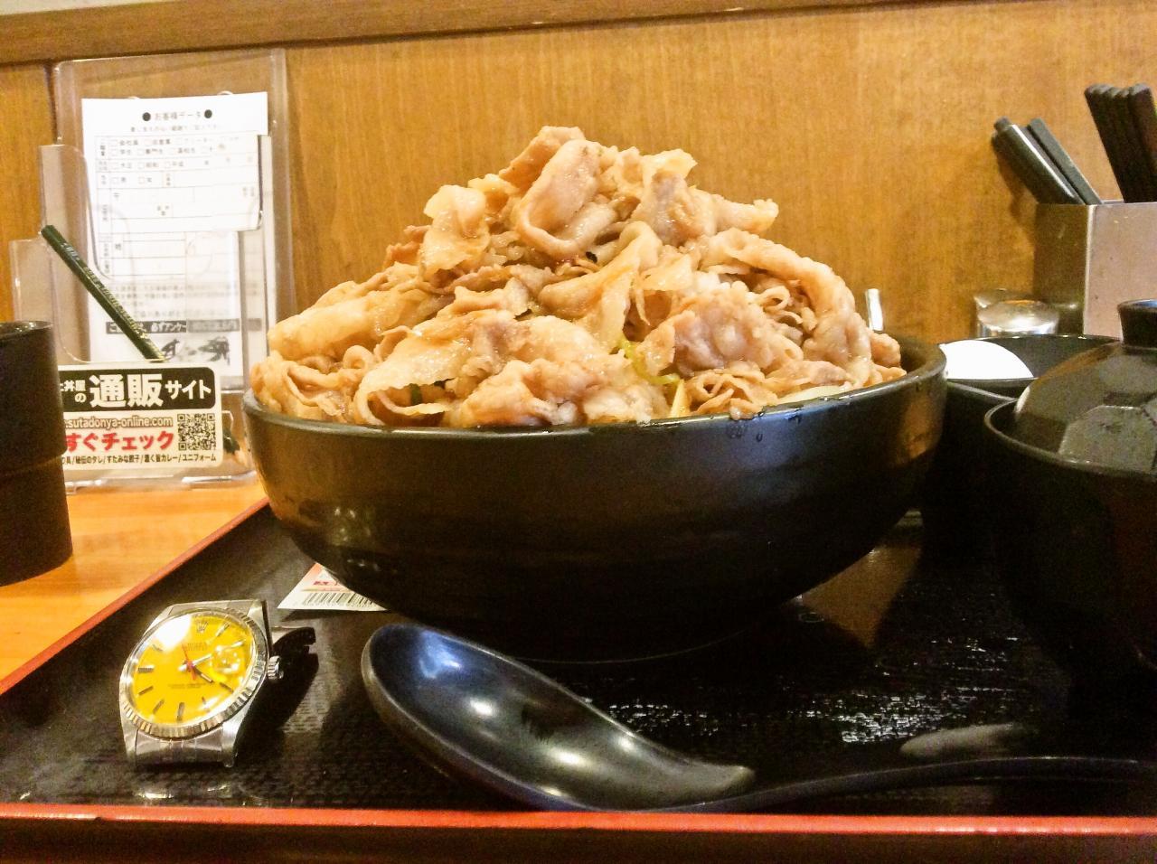 伝説のすた丼屋 渋谷店(肉飯増し)