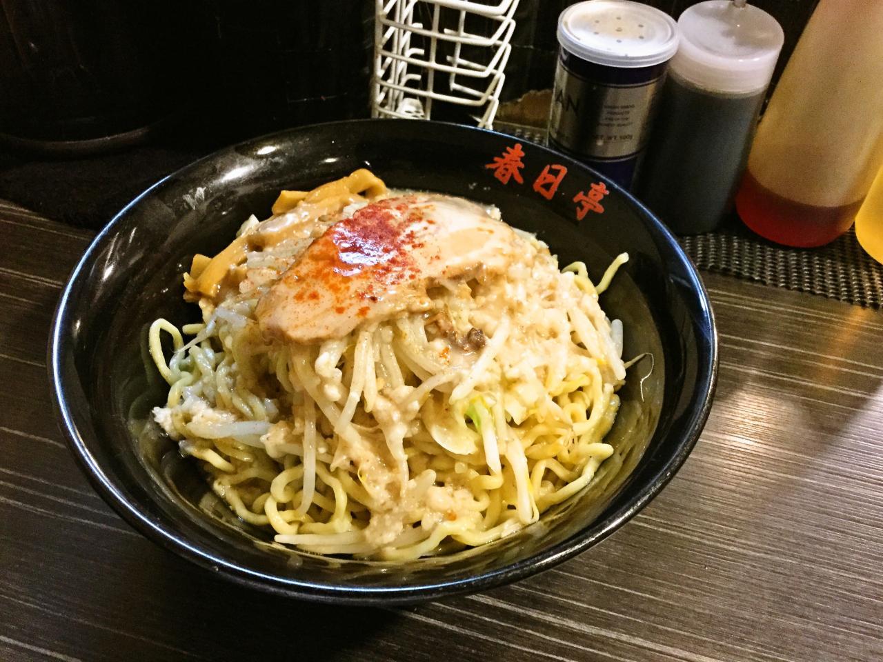 油そば 春日亭 渋谷店(チャレンジ)