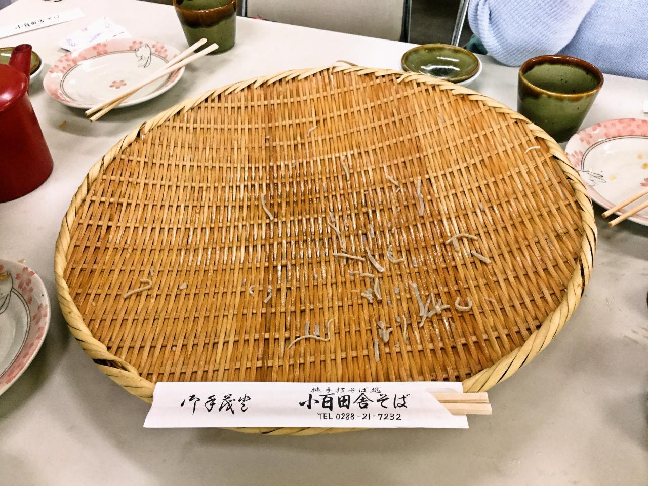 小百田舎そば(そば)