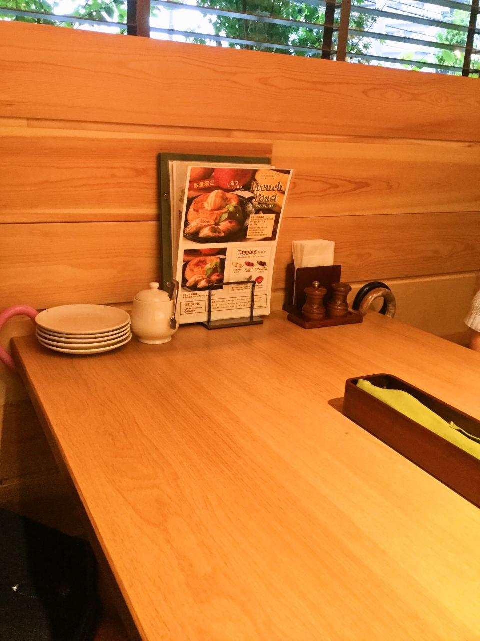 むさしの森珈琲 中央林間店(店内)