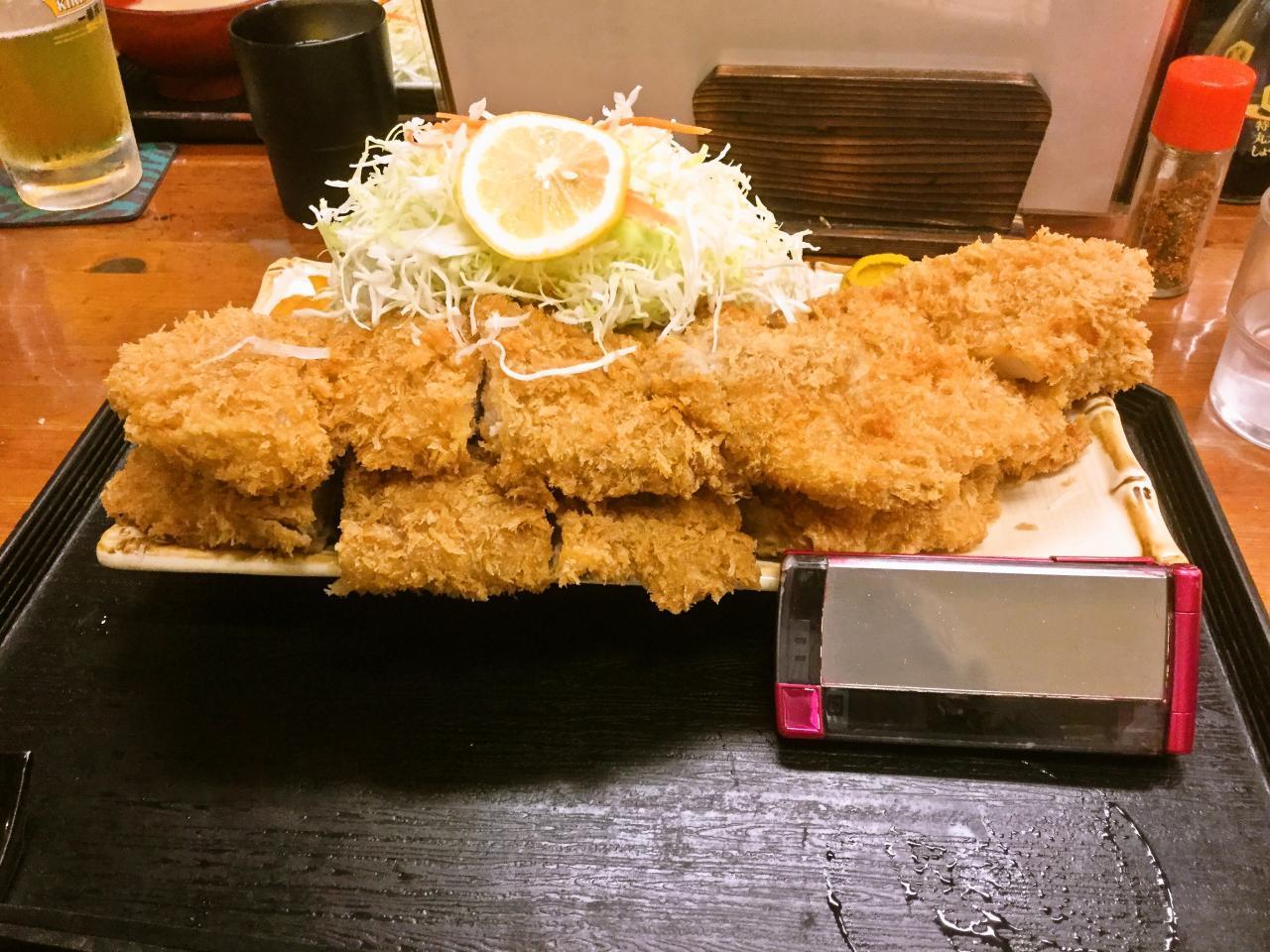豚菜(チキンカツ)