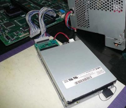 PC-9801BX2/U2 + TRI-002 + FD1231T
