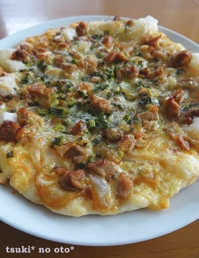 ピザ照り焼き