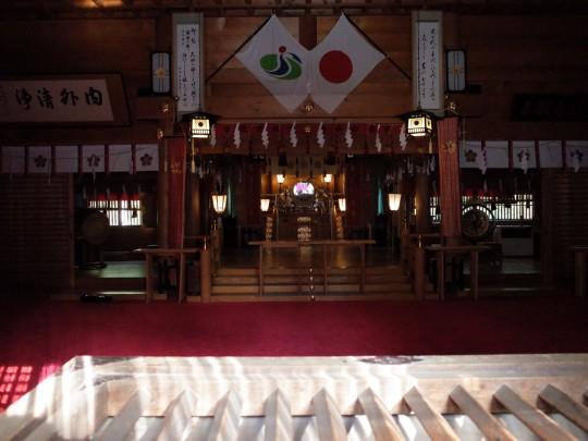 士別神社10