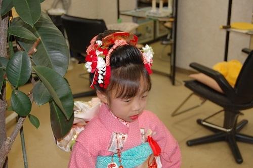七五三 日本髪06