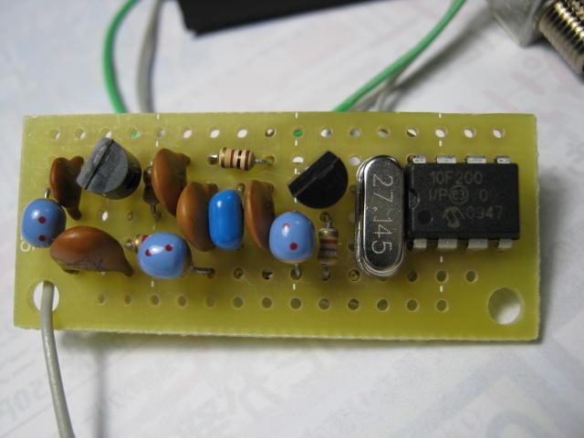 トイザらスのラジコンカー_PT8A977(送信機新調)送信機基板1
