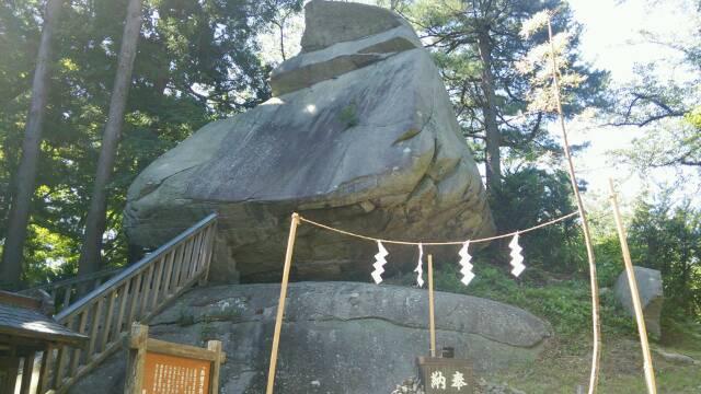盛岡城 巨大岩
