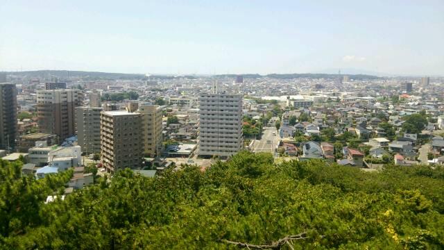 久保田城 眺望