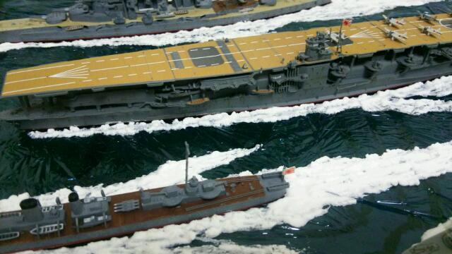 ガチザムライ機動艦隊横から