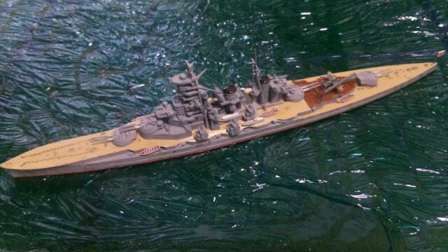 ハセガワ 戦艦榛名 完成
