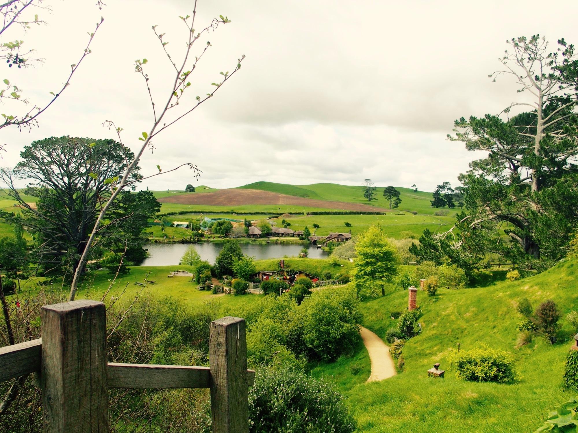 グリーンドラゴンの風景
