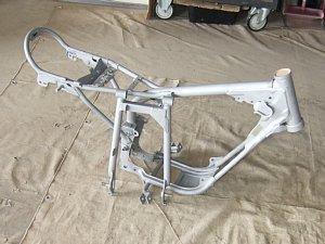 GT50 ブラスト処理 フレーム