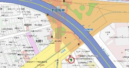 野田たこひろ地図
