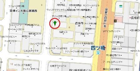 北堀江萩尾一棟貸地図