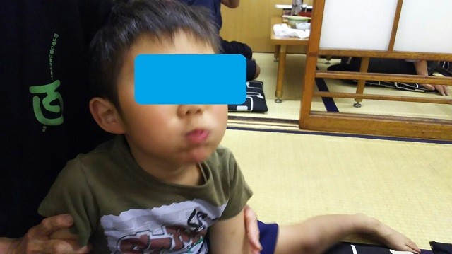 160518 成田家 栄町店にて③ ブログ用目隠し