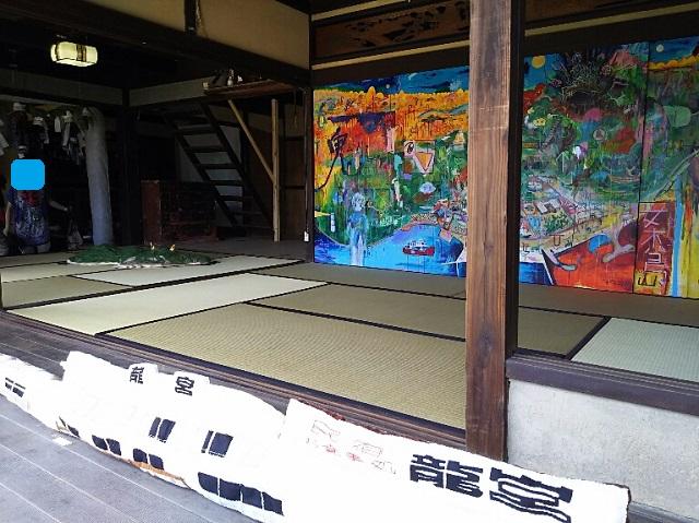 160721 瀬戸芸 女木島 鬼の家① ブログ用目隠し