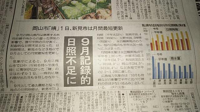 161005 山陽新聞朝刊 ブログ用