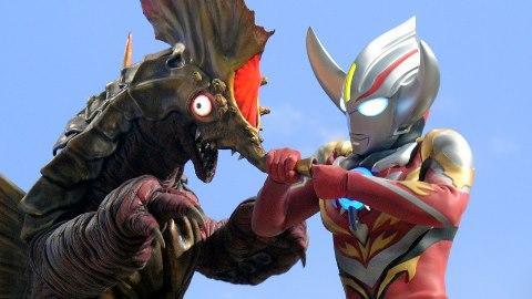マガジャッパ vs ウルトラマンオーブ バーンマイト