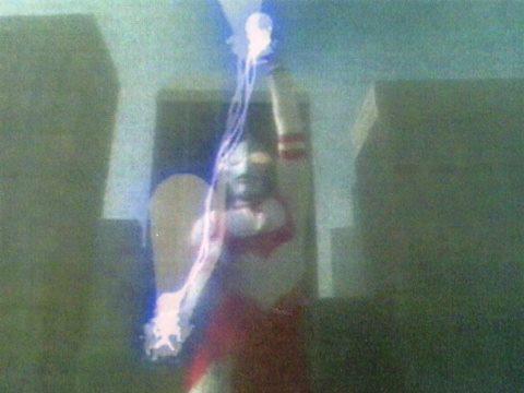 ウルトラマングレートの必殺光線 バーニングプラズマ