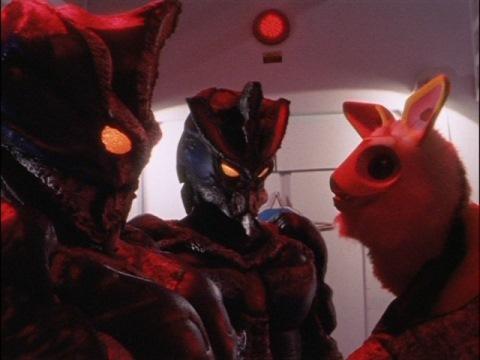 ムーキット(ハネジロー)と再会したファビラス星人