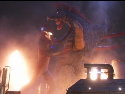 ウルトラマンメビウス vs フェミゴンフレイム