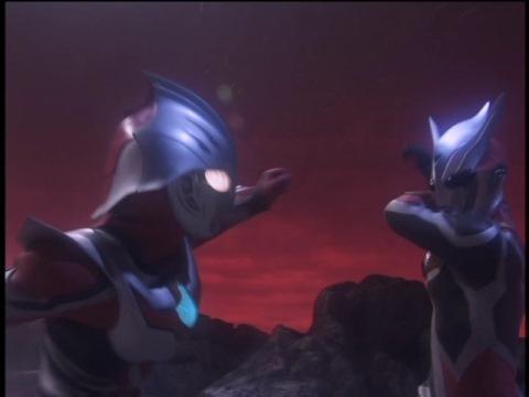 ウルトラマンネクサス(ジュネッス) vs ダークファウスト