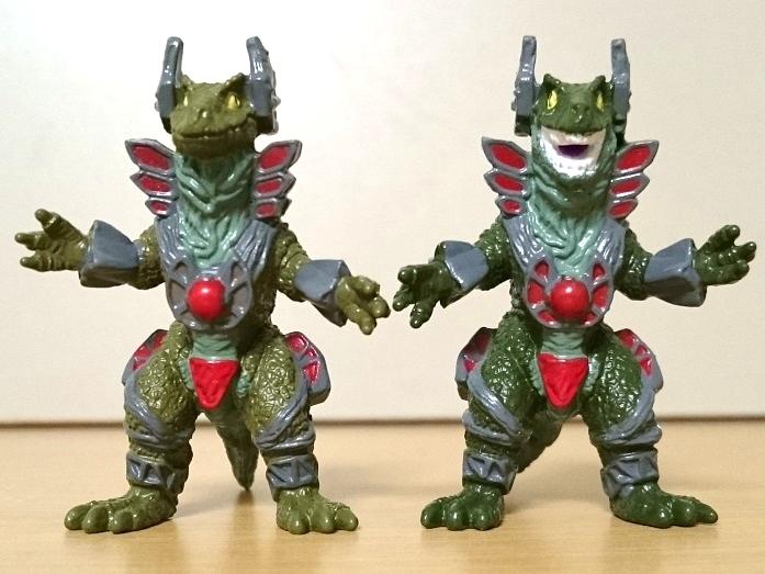 ウルトラマンティガ怪獣 ティガモンスター超全集 ウェポナイザー1号&2号