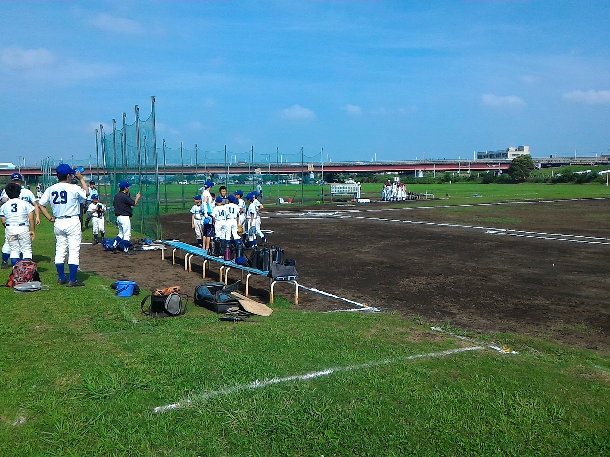 休み 野球