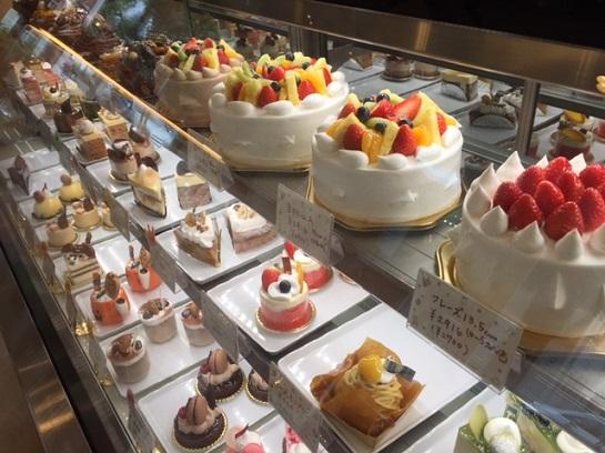 Cakeのショウウィンドー