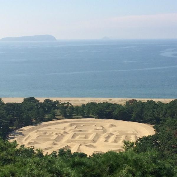 161017銭形砂浜