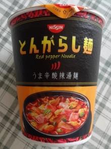 とんがらし麺 うま辛酸辣湯麺 113円