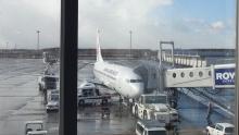 7:24 この飛行機に乗ります。
