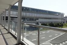 9:37 伊丹空港から大阪モノレール・大阪空港駅へ