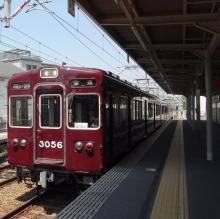 11:14 阪急 仁川駅にて。今津線で西宮北口駅へ。