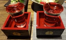 日本酒 宮水の華 630円、香住鶴 660円