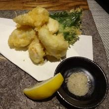 鯛白子 天ぷら 1050円