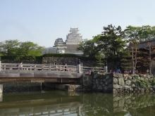 8:06 桜門橋と姫路城