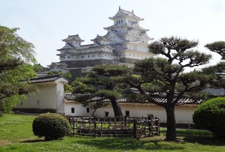 9:29 西の丸から見た姫路城