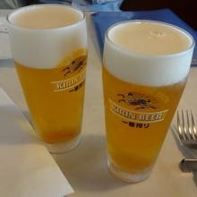 17:33 ビール×2