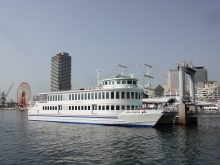 9:03 乗船予定のロイヤルプリンセス号