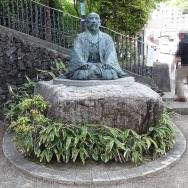14:26 ゆけむり広場 太閤秀吉の像