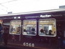 15:45 阪急 十三駅にて。