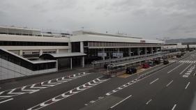 16:10 大阪空港駅から大阪国際空港へ。