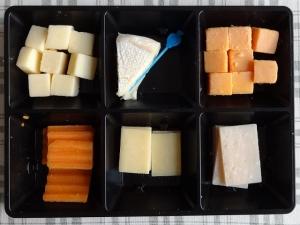 こんなチーズのセットです。