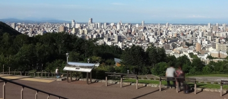 展望広場からの眺め 左方向